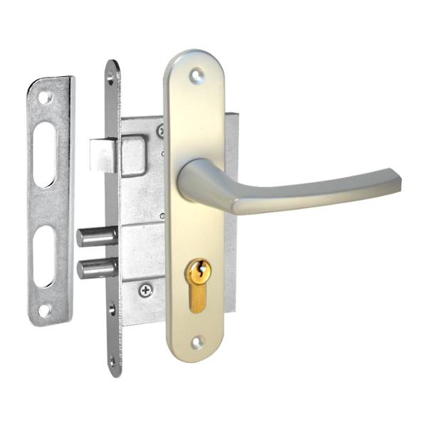 durvju slēdzene ZV4 anodēta