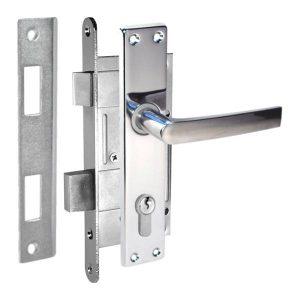 Iekaļamo durvju slēdzeņu komplekti