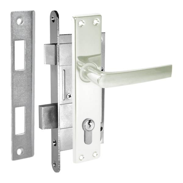 durvju slēdzene ZV45 anodēta