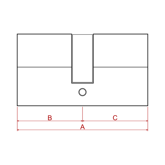 Cilindra mehānisma izmēri