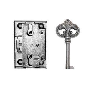 Pieliekama mēbeļu slēdzene